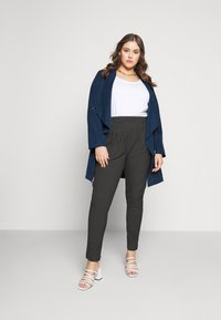 CAPSULE by Simply Be - WATERFALL JACKET - Short coat - navy - 1