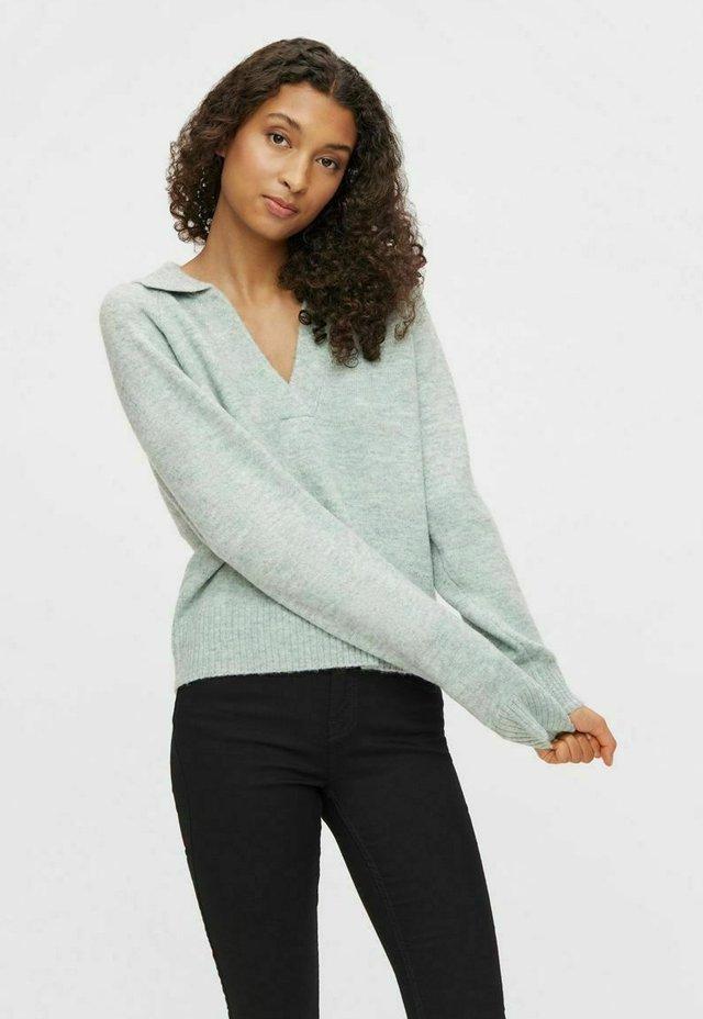 Pullover - celadon
