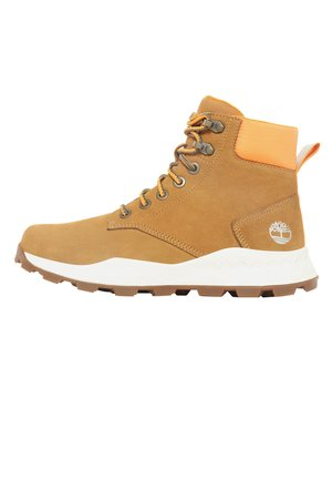 BROOKLYN  - Lace-up ankle boots - wheat