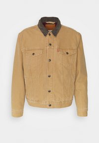 LINED TRUCKER JACKET UNISEX - Summer jacket - dijon