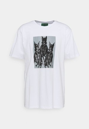 PHOTOGRAPHIC PRINT UNISEX  - T-shirt med print - white