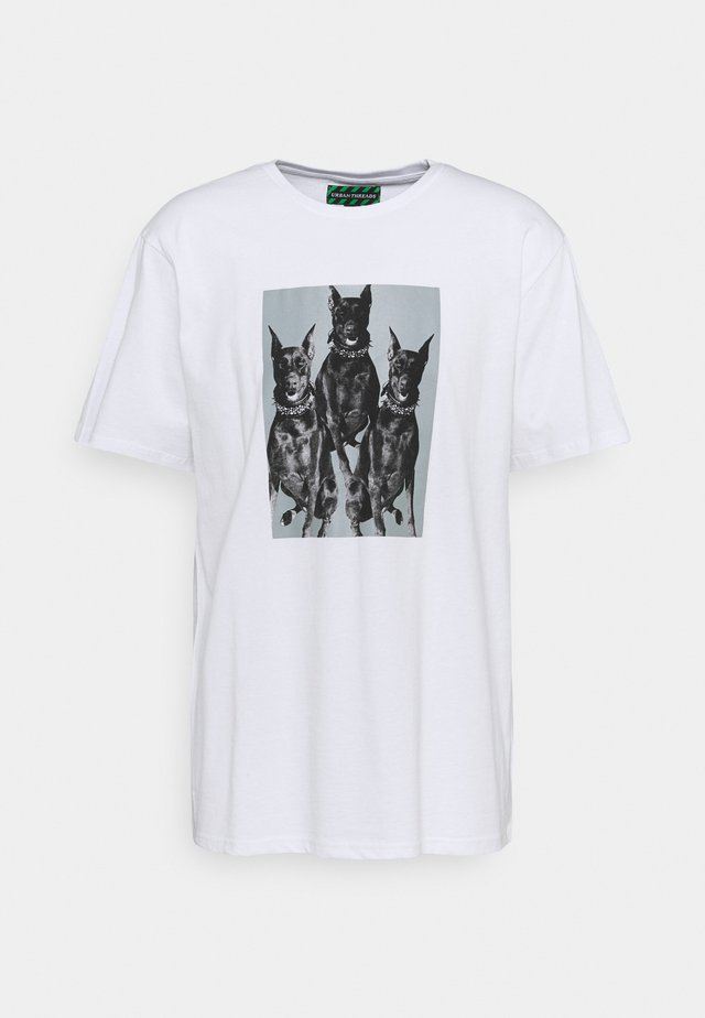 PHOTOGRAPHIC PRINT UNISEX  - T-shirt con stampa - white
