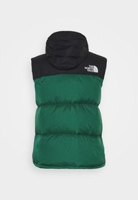 The North Face - RETRO NUPTSE VEST UNISEX - Kamizelka - evergreen - 3