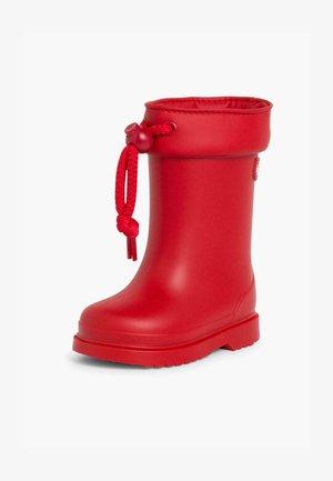 Botas de agua - rojo