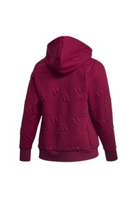 adidas Performance - AEROREADY JACQUARD FULL-ZIP LOGO HOODIE (PLUS SIZE) - Sudadera con cremallera - purple - 11