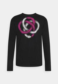 YOURTURN - UNISEX - Long sleeved top - black - 6