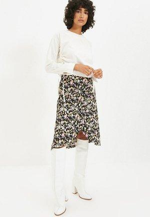 PARENT - A-line skirt - white