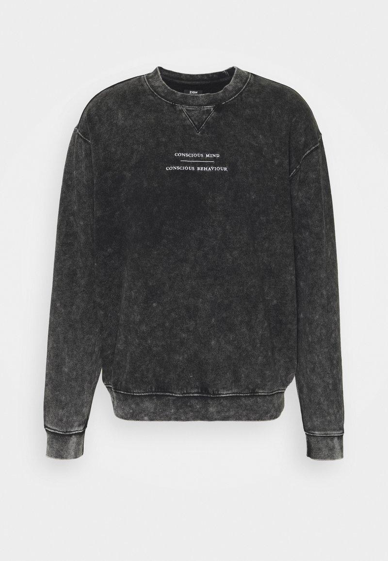Zign - UNISEX - Sweatshirt - black