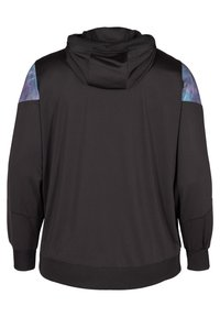 Active by Zizzi - MIT PRINTDETAILS - Training jacket - black - 5