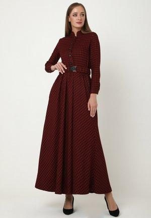 ALLTAGS EVELINA - Maxi dress - kastanienbraun