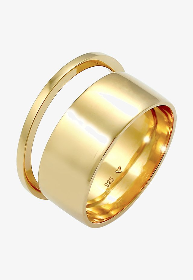 2 SET - Ringar - gold