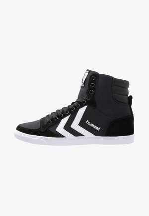 SLIMMER STADIL - Sneaker high - black/white
