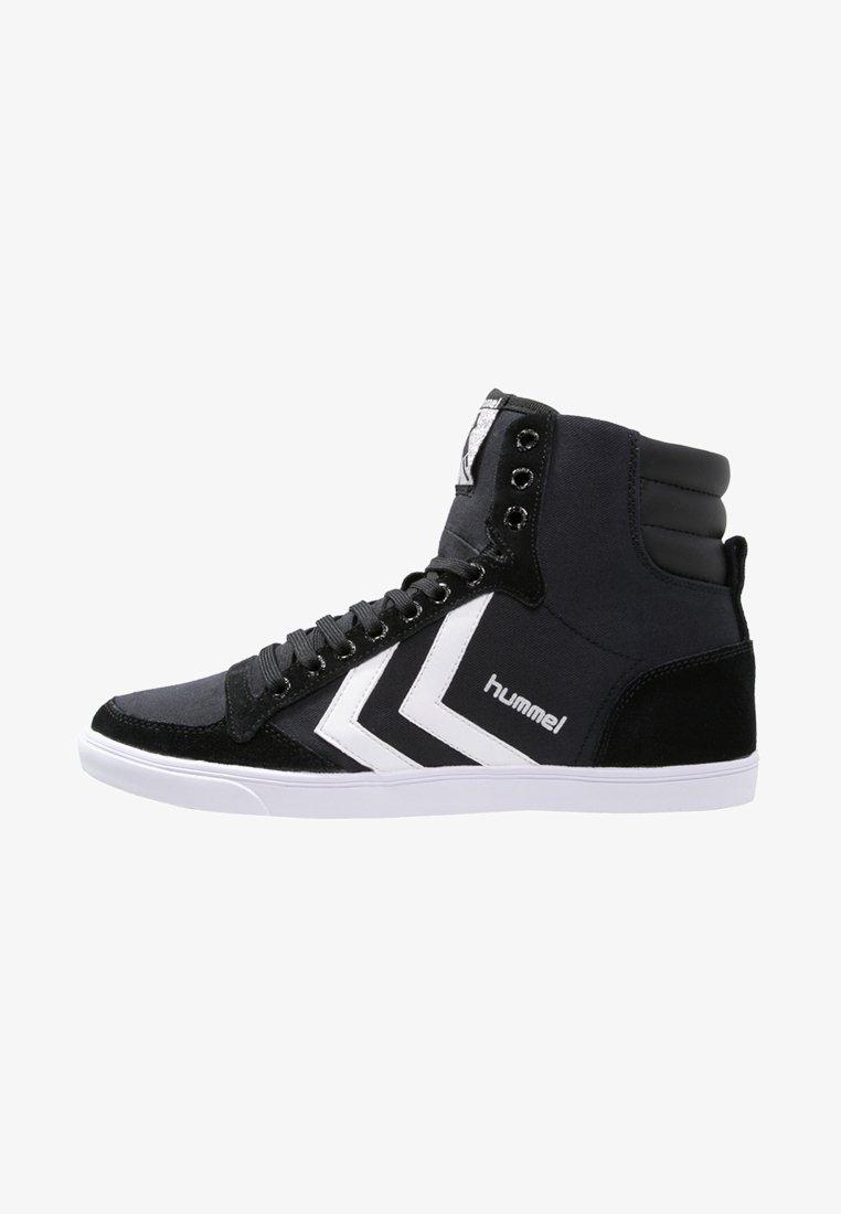 Hummel - SLIMMER STADIL - Höga sneakers - black/white