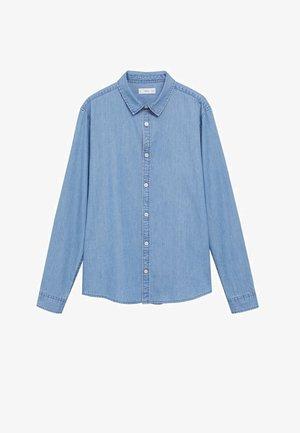 Košile - middenblauw