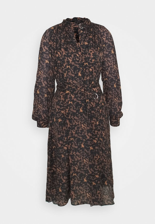 NINA TORTO DRESS - Day dress - brown