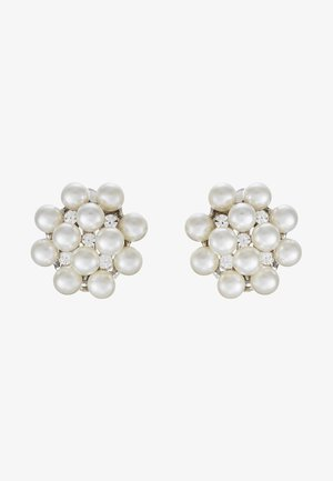 Øredobber - silber/crystal/pearl