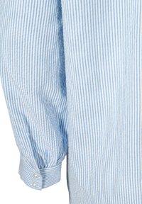 Zizzi - Button-down blouse - skyway stripe - 5