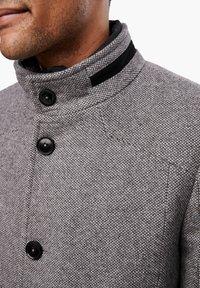s.Oliver BLACK LABEL - STEHKRAGEN - Short coat - grey melange - 4