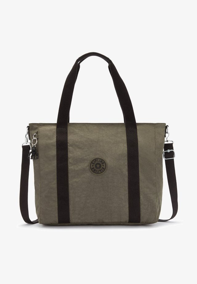 ASSENI - Shopping bag - green moss