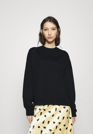 BASIC OVERSIZE SWEATSHIRT - Mikina - black