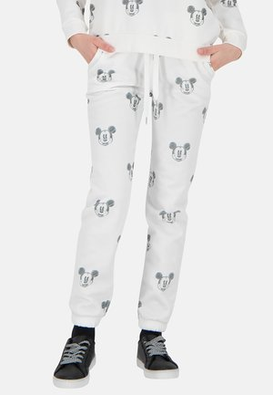 MICKEY FACES - Trainingsbroek - offwhite