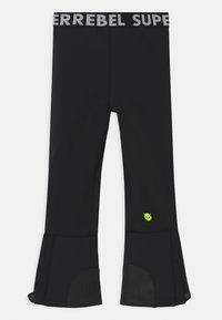 SuperRebel - SUSTAINABLE UNISEX - Zimní kalhoty - black - 1