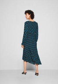Diane von Furstenberg - MANAL DRESS - Day dress - mirrors medium dark ocean - 3