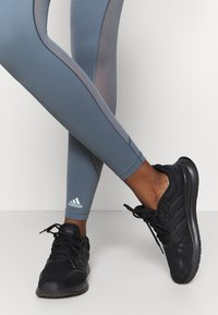 adidas Performance - Leggings - legend blue/green tint - 5