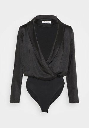 COLLINS BODYSUIT - Long sleeved top - black