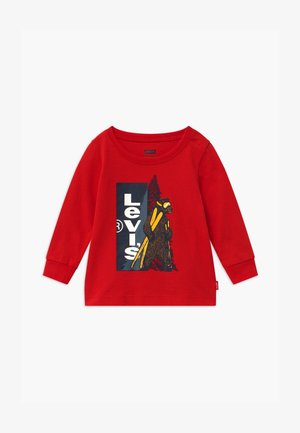 GRAPHIC - Long sleeved top - red