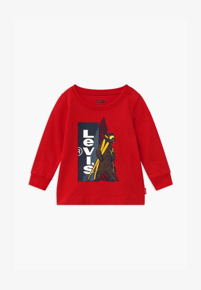 GRAPHIC - T-shirt à manches longues - red