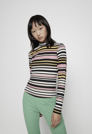 PCSITTA - Long sleeved top - candy pinkochre