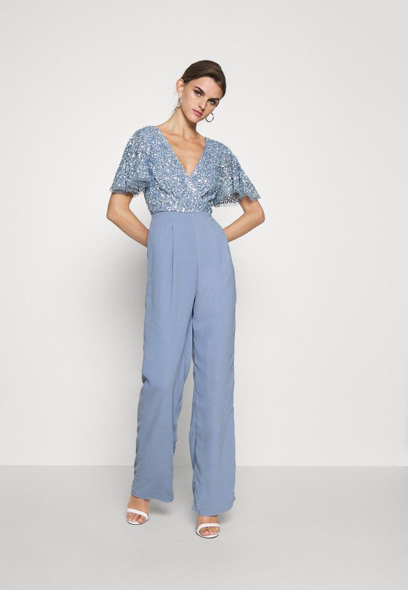 Lace & Beads - MAISON - Jumpsuit - blue