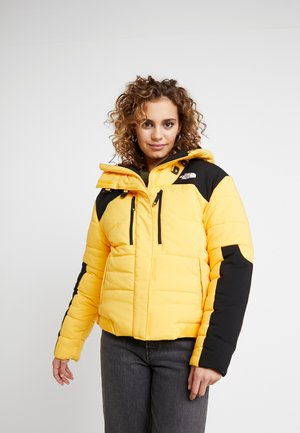 HIMALAYAN PUFFER - Down jacket - tnf yellow tnf black