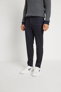 Only & Sons - ONSMARK PANT CHECK - Pantalon classique - dark navy - 0