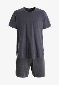 Schiesser - SET KURZ - Pyjama set - anthrazit - 5