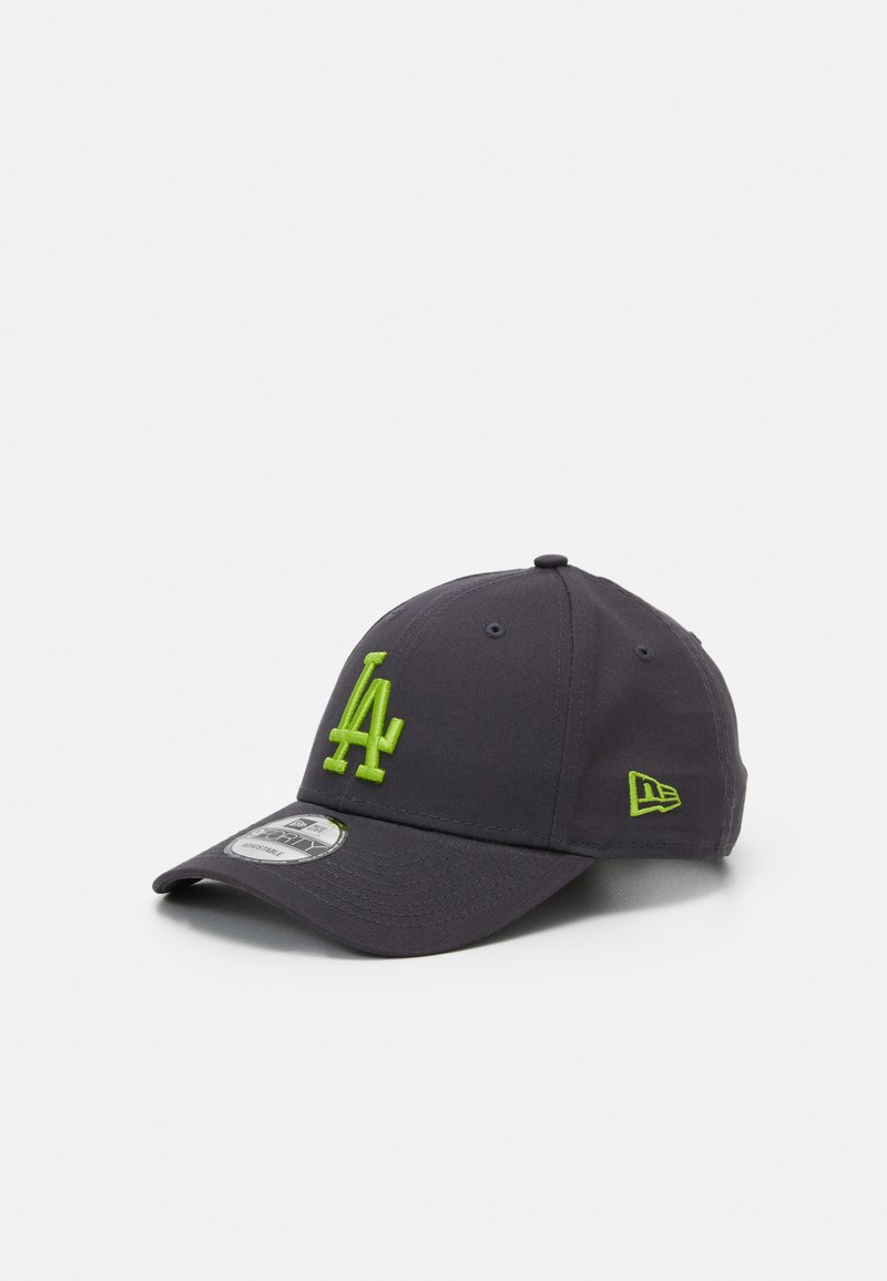 New Era - LEAGUE ESSENTIAL 9FORTY UNISEX - Cap - dark grey/light green