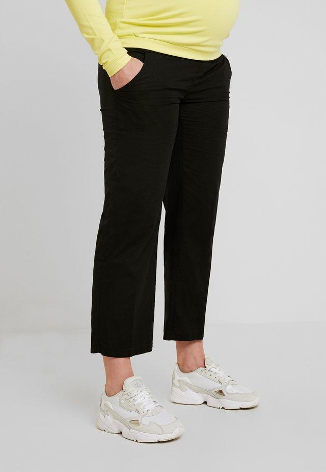 HOSE - Spodnie materiałowe - black onyx