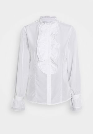 VIUNES RUFFLE  - Blouse - snow white