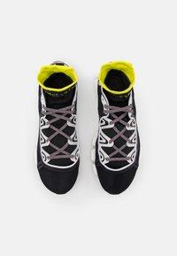 adidas by Stella McCartney - ASMC CLIMACOOL VENTO - Zapatillas de running neutras - footwear white/acid yellow/core black - 3