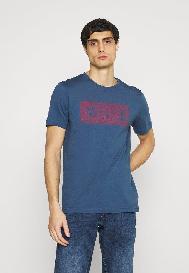 ALEX PRINT - Camiseta estampada - ensigne blue