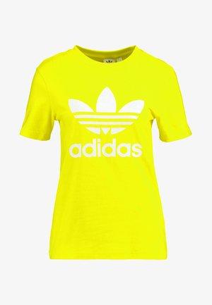ADICOLOR TREFOIL GRAPHIC TEE - T-shirt imprimé - yellow
