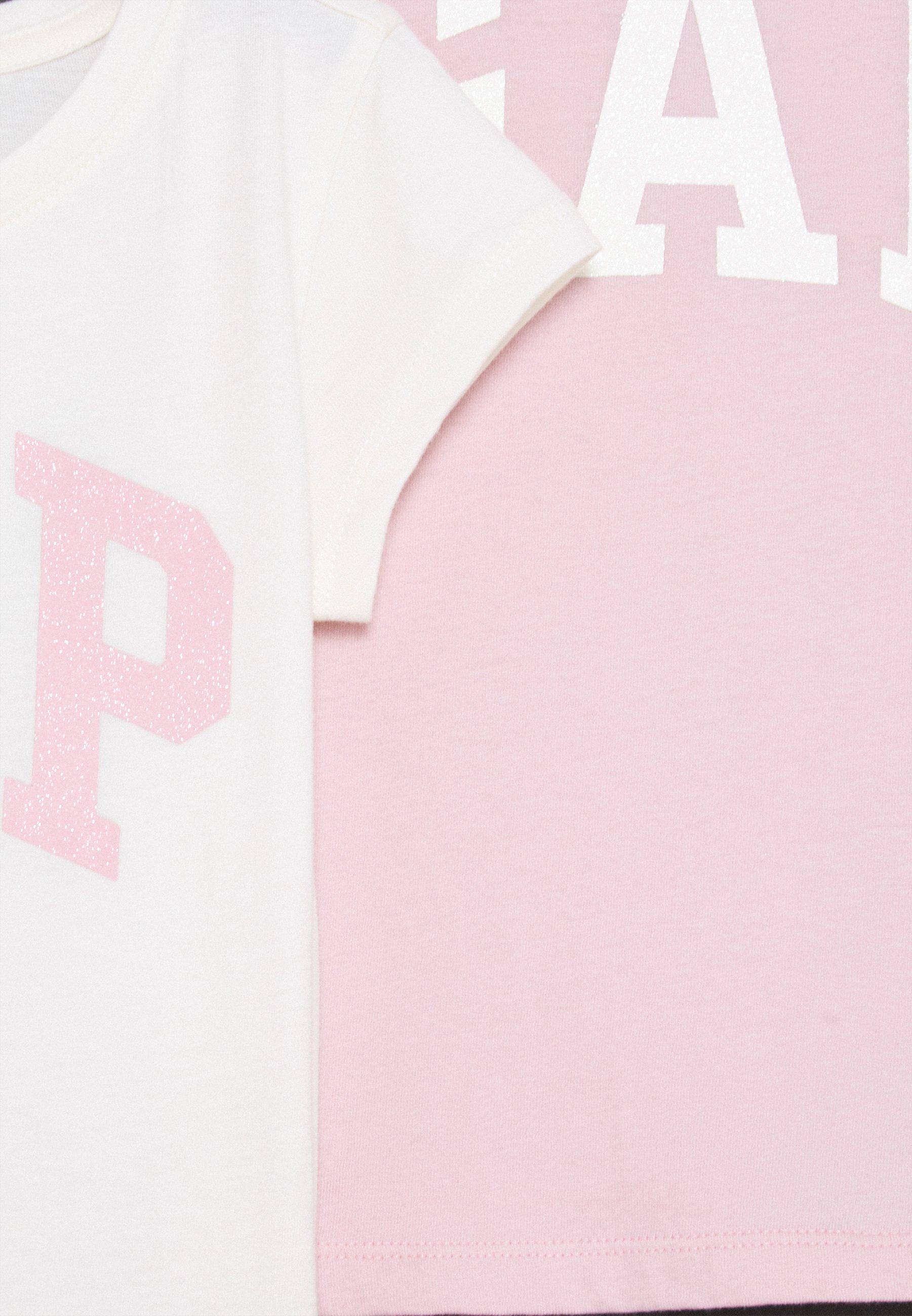 Kids GIRLS LOGO 2 PACK - Print T-shirt
