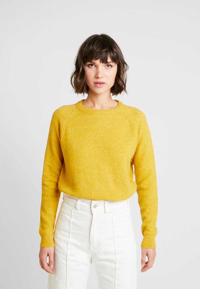 KITA JUMPER - Neule - harvest gold