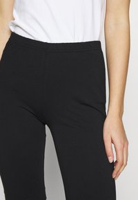 esmé studios - PAM SHORT LEGGINGS - Shorts - black - 4