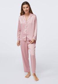 OYSHO - MINI HEARTS  - Pyjama bottoms - rose - 1