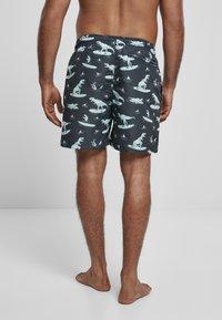Urban Classics - Swimming shorts - surfing t rex aop - 2