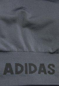 adidas Performance - AEROKNIT BRA - Brassières de sport à maintien léger - dark grey heather/solid grey - 2