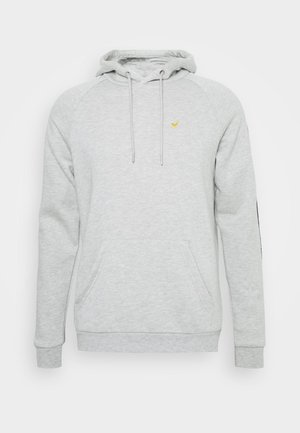 Hoodie - mottled light grey