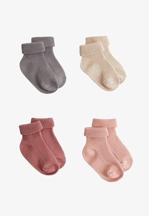 PACK 4 MINI7 - Ponožky - rosa